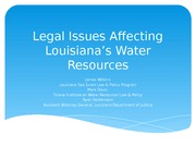 Water Law CLE
