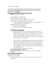 ILCS 1170 Final Study Guide
