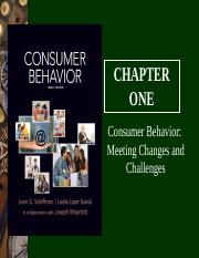 Chapter-01.  Consumer Behavior-Meeting Changes and Challenges.ppt