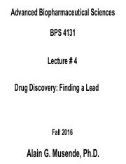 Lecture 4 - Drug Discovery.pdf