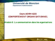 Module  6 ADRH 6224-La communication-PEpptx