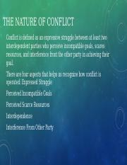 The Nature of Conflict.pptx