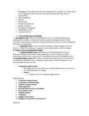 Operations Management notes 7