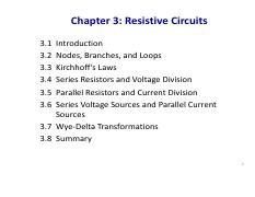 Electric Circuits Ch03 revised by SJ