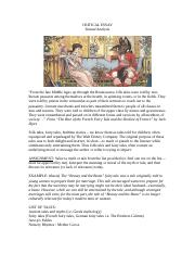Essay -- Critical Essay -- Myths and Tales.docx