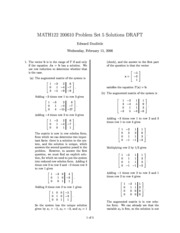 MATH122-200610-PS05-Solutions