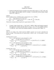 2e solutions manual to accompany mechanical metallurgy rh coursehero com Encyclopedia of Metallurgy Extractive Metallurgy