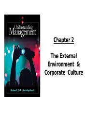 Chapter 2- External and Corporate Culture - Completed.pptx