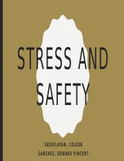 STRESS AND SAFETY.pptx