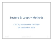lecture9-loops+methods