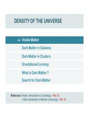 S11_COSMOLOGY_Density_of_the_Universe_I