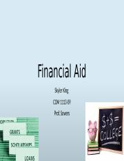 Financial help essay