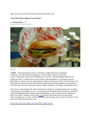 Stern--Fast-food Chains Adapt to Local Tastes.docx
