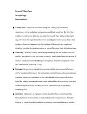 Personal_Values_Paper_BE_-_Jocelyn_Griggs
