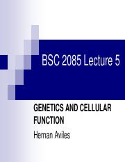Lecture5 Genetics and Cellular Function.pdf
