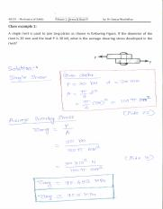 48331 Mechanics of Solids - 2017 Autumn - onclass example - lecture 1