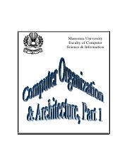 COAT-computer-organization-and-architecture-textbook-part-1