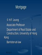 MSc Mortgage.ppt