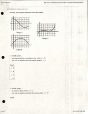 Graph Questions and Solutions