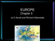 16- Chapter 5, EUROPE