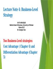 Lecture Note 4_chapter4&5
