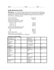 Chapter 9 Bank Reconciliation