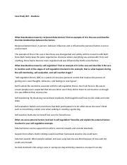 determinism event study