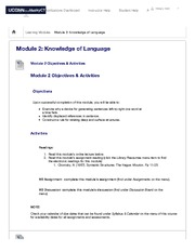 Module 2: Knowledge of Language – LING-1010-Language and...