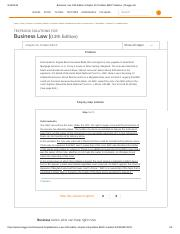 Business Law 13th Edition Chapter 26 Problem 8BCP Solution _ Chegg.pdf