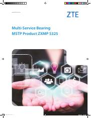 Multi-Service Bearing MSTP Product ZXMP S325_EN_201608(for printing).pdf