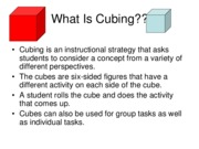What Is Cubing