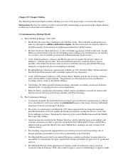 APUSH Ch 25 Outline-1 - Chapter 25 Chapter Outline The