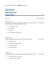 Medical Coding II exam 8