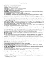 Exam 2 Study Guide Final Version