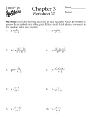 Worksheet 3Z