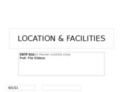 Location & Facilities