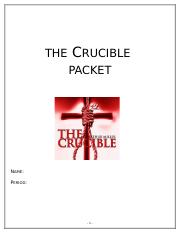 The Crucible Activity Packet.doc