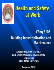 7. Health and safety at work Lecture 12.ppt