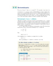 3.6-3.7 Determinants and Cramer's Rule File