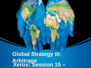 14 - Global Strategy III, Arbitrage, Win11