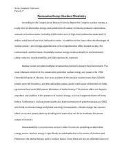 Chemistry Nuclear Power Bad- Essay 2.docx