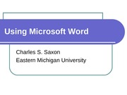 UsingMicrosoftWord