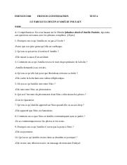 FRENCH 3300 TEST 4