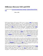 Difference Between XSD and DTD.docx