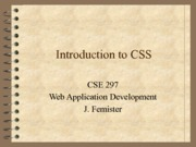 06 - Introduction to CSS