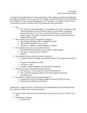 Exam 2 Study Guide Part II