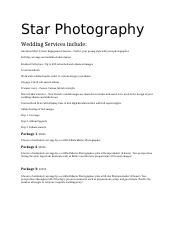 Star Photography.docx
