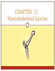 chapter 14 Bone Joint and Muscle Injuries