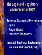 1. HRM Decision Environment Fall 2015.ppt