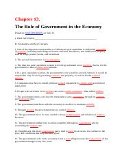 Chapter 13. The role of Government in the economic.docx